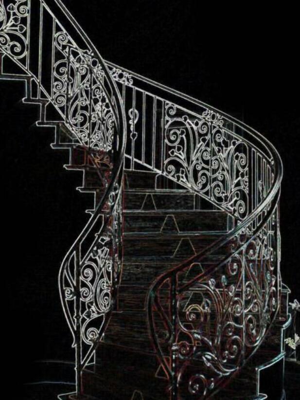 Grand Stair Handrails